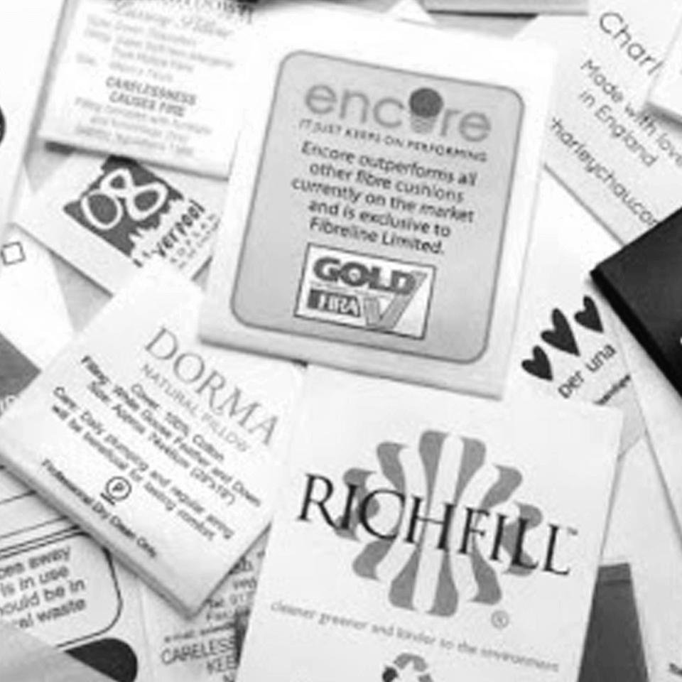 Geprinte Labels